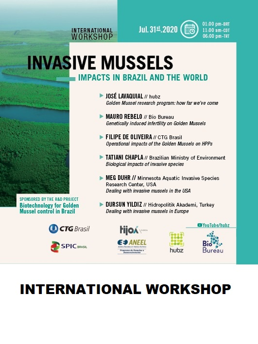 HPA will participate to an International Workshop on Invasive Mussels