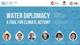 Water diplomacy a tool for climate action